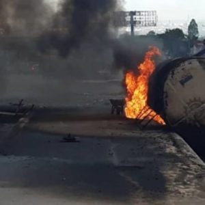 Another petrol tanker fire hits Onitsha