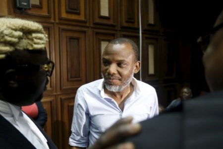 I'm ready to face trial if I am not tortured or killed, Prodigal Nnamdi Kanu tells Abuja Federal High court