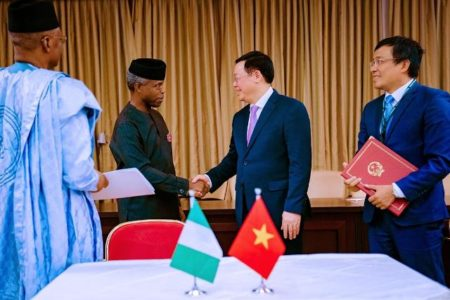 Nigeria and the Socialist Republic of Vietnam sign visa waiver agreement  for Valid Diplomatic and Official Passports