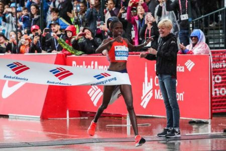 Kenyan Runner Brigid Kosgei smashes Paula Radcliffe's world marathon record by 81 seconds