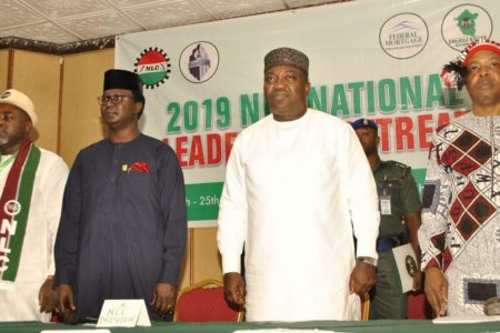 Enugu Governor Ifeanyi Ugwuanyi assures of his commitment to workers' welfare
