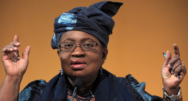 Dr Okonjo-Iweala Recommends Economic Restructuring in the midst of OIL Price CRASH